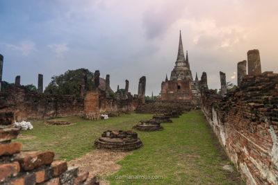 Templos de Ayuttaya en Tailandia